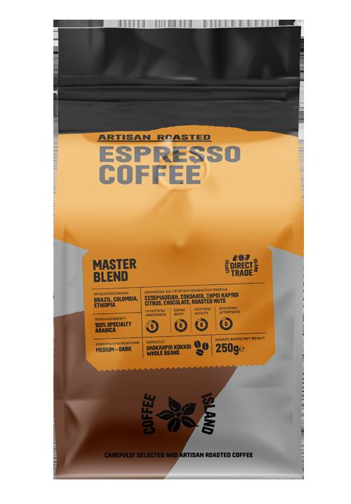 Espresso Master Blend Συσκευασμένος 250γρ