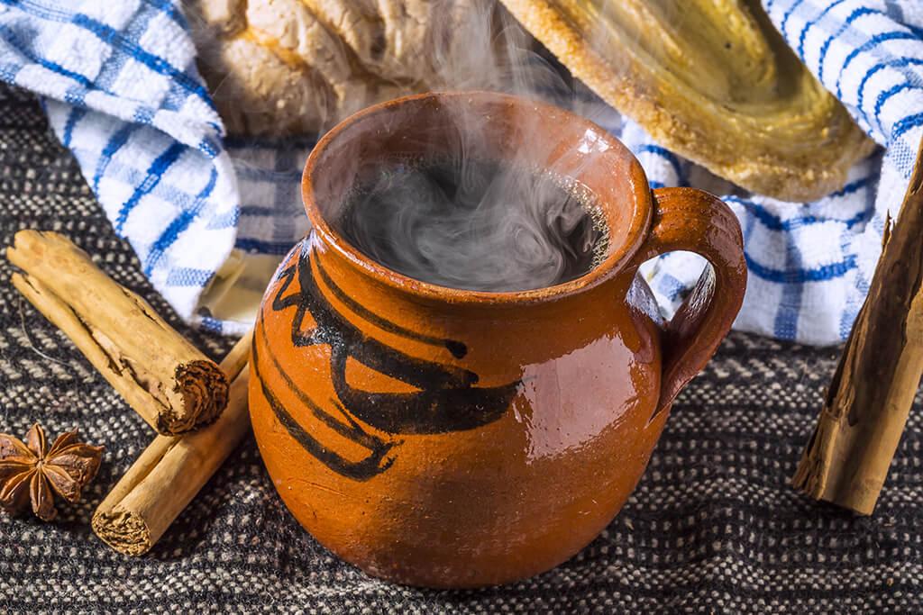 Café de olla coffee.