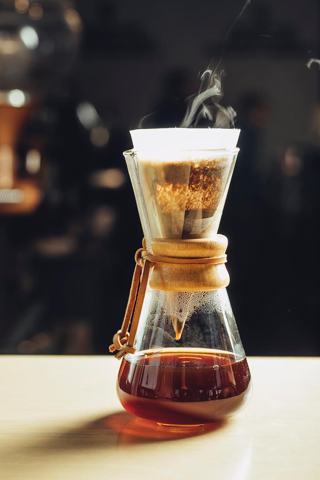 Coffee Island's Chemex