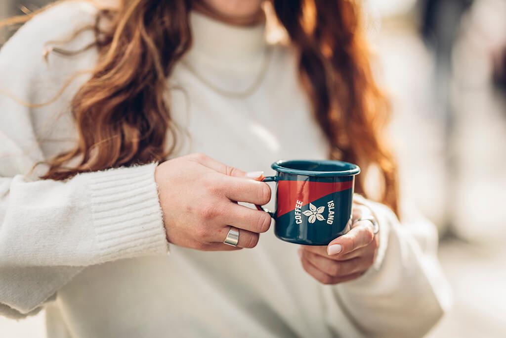Coffee Island mug